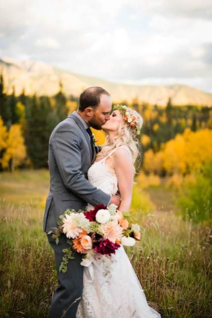 durango colorado fall wedding