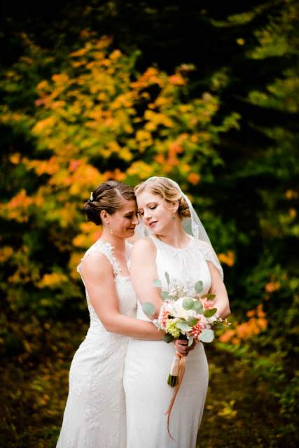 fall mountain lodge wedding 2