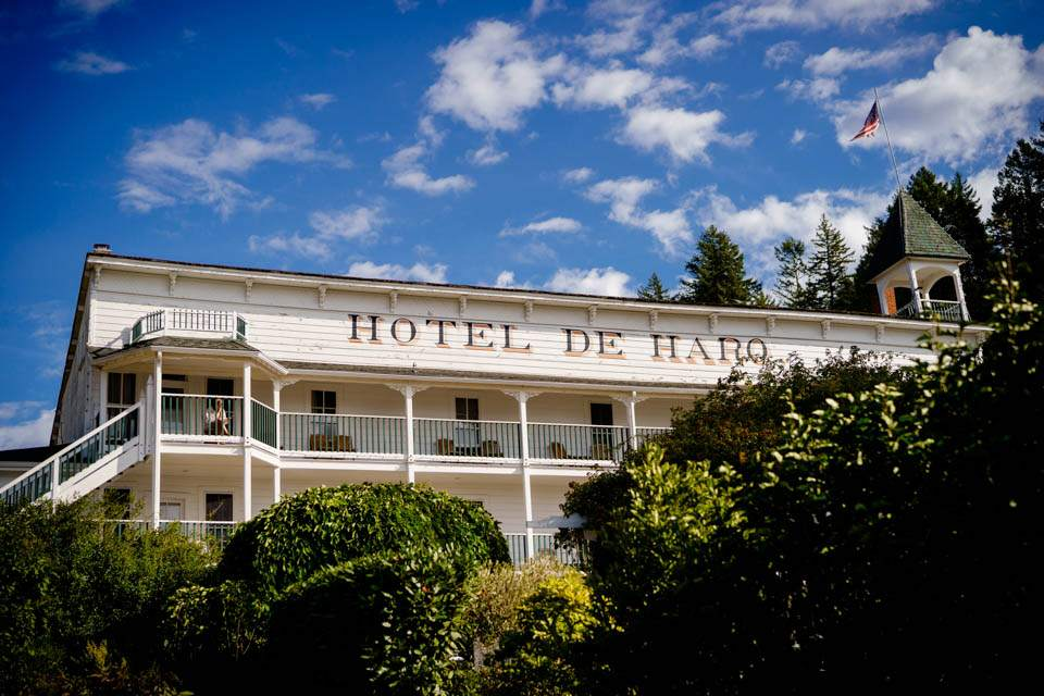 historic hotel de haro at roche harbor