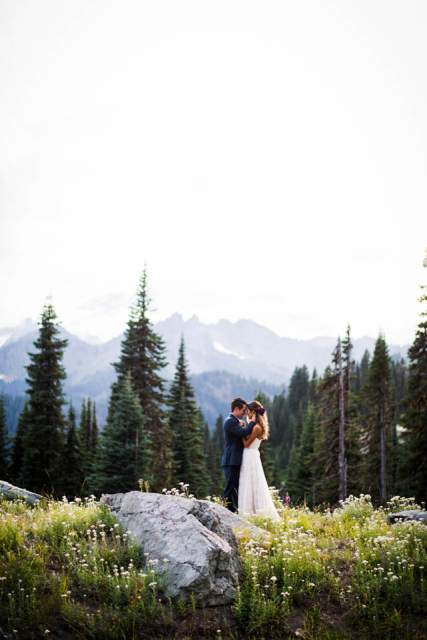 mount rainier adventure elopement