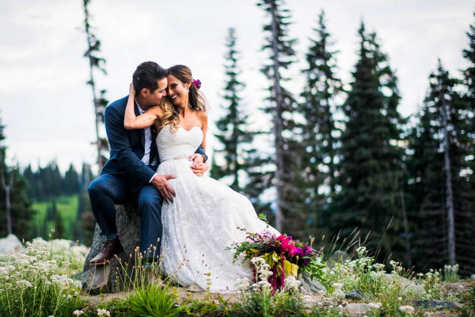 mount rainier adventure wedding