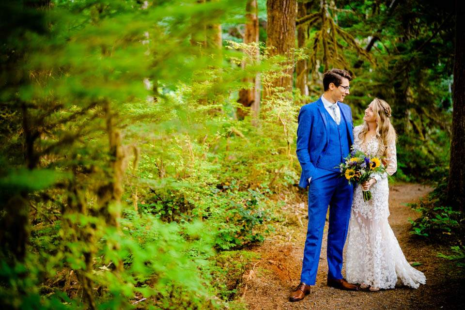 olympic national park wedding photos