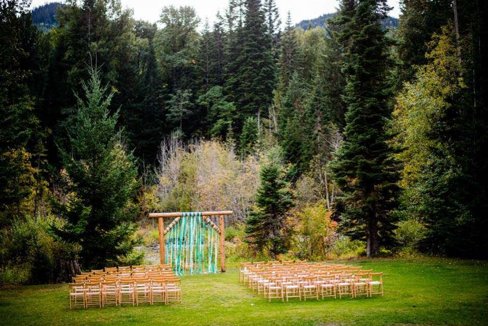 outdoorsy ceremony space in mountains 2