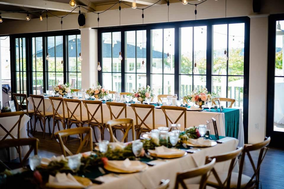 roche harbor wedding reception space