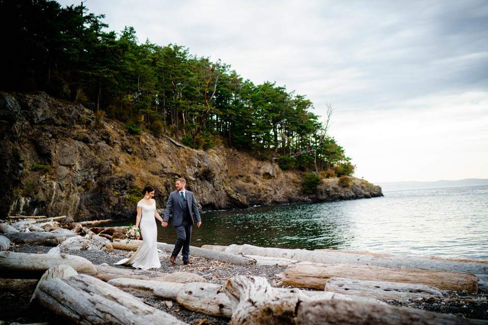san juan island wedding photos