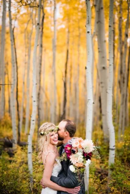 wedding in durango colorado in fall