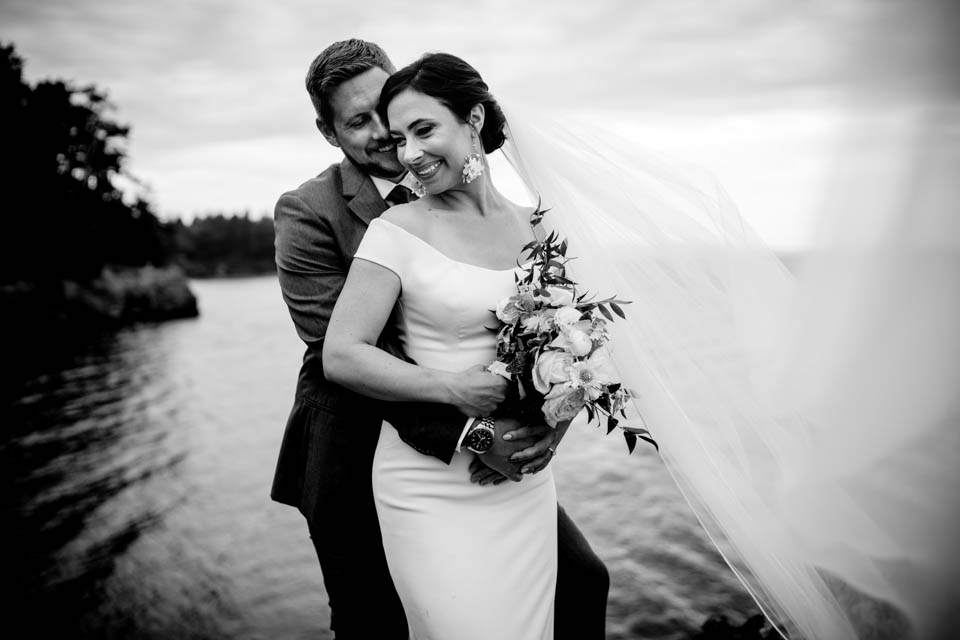 wedding on san juan island
