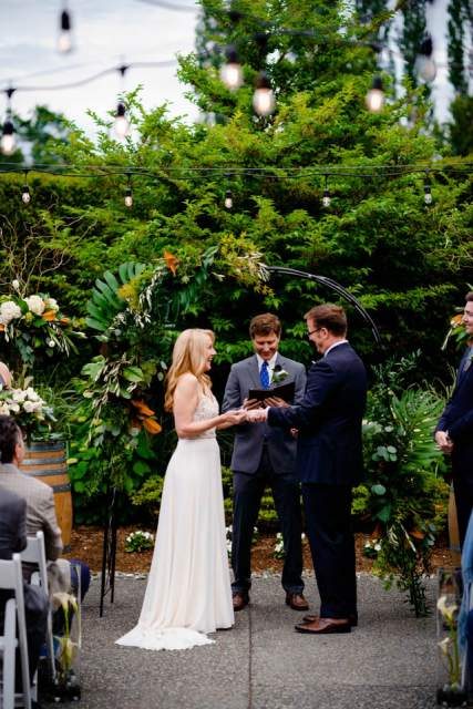 woodinville wedding at columbia winery