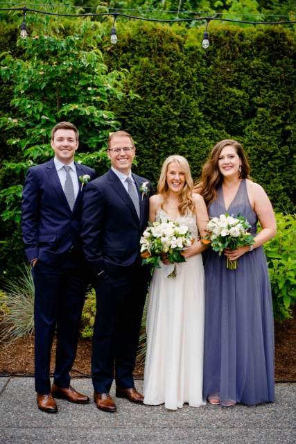 woodinville winery wedding family formal photos